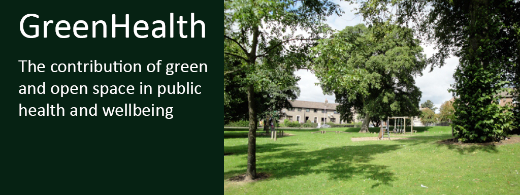 Photo linking through to information about the research project, Green Health