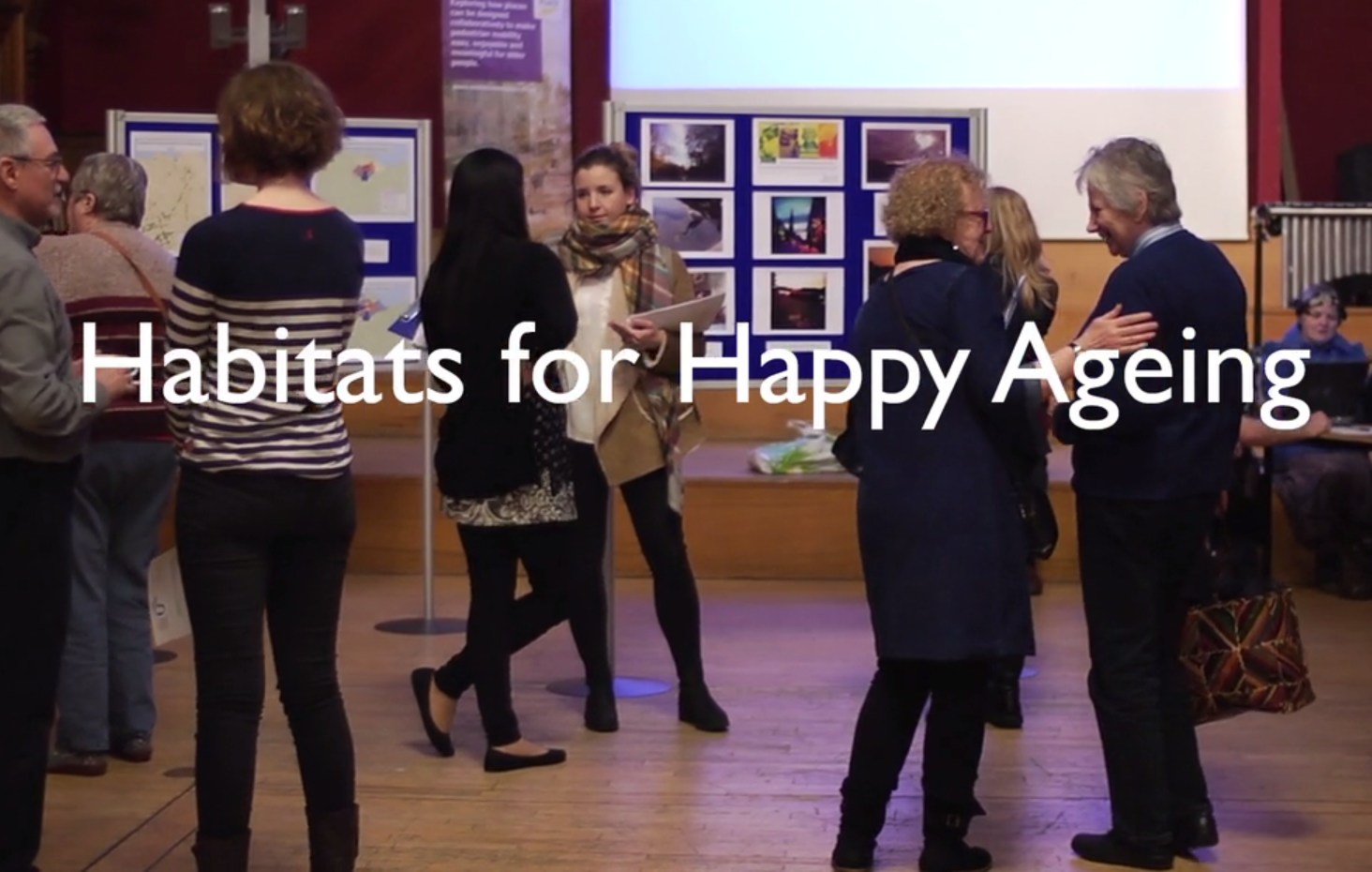 Screengrab from the trailer for Habitats for Happy Ageing