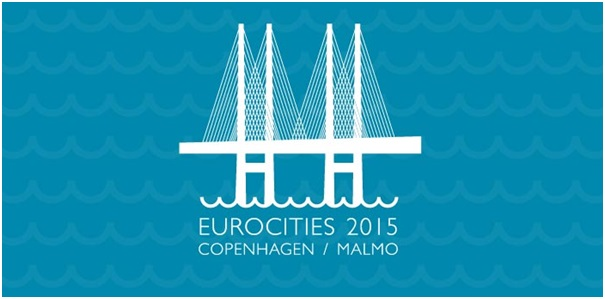 Logo for EUROCITIES 2015