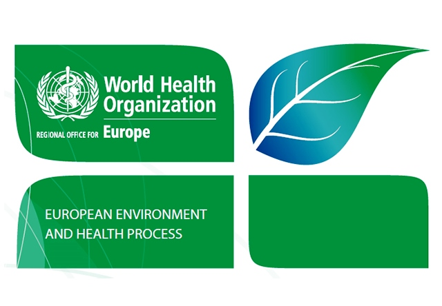 Logo of the World Health Organization European Environment and Health Process