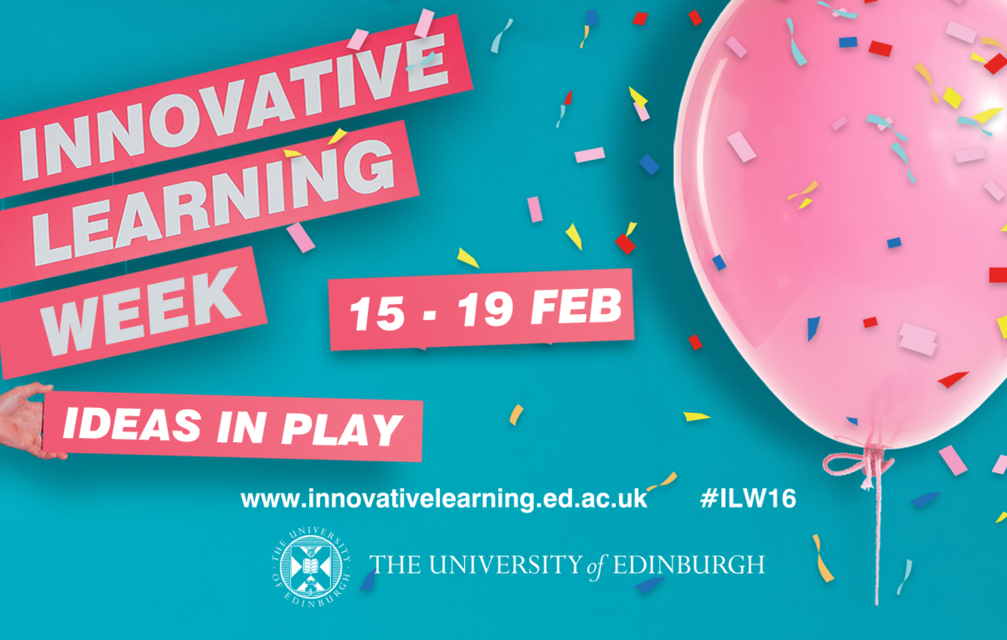 Poster for Innovative Learning Week
